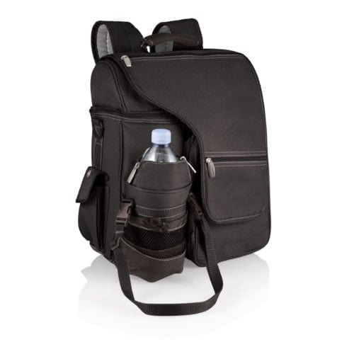 Turismo – Black W/Silver Trim Insulated Backpack