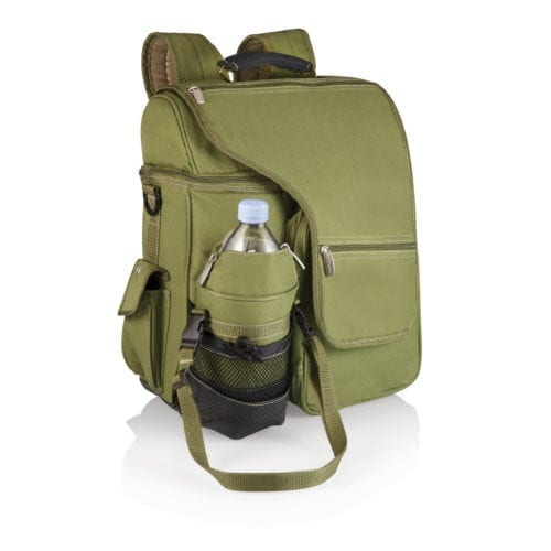 Turismo – Olive W/Tan Trim Insulated Backpack