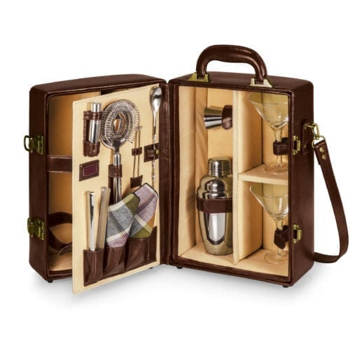 Manhattan – Mahogany Cocktail Case (New Style)